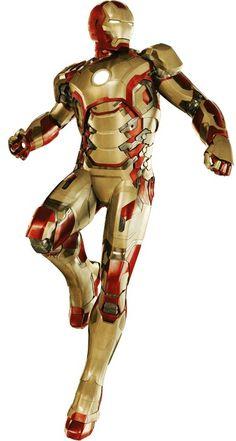 Iron Man 3, Mark 42, baby!