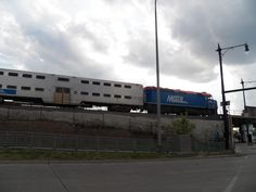 Blue line In Old Irving Park. Ill be able to see it from my house soon!!! :)