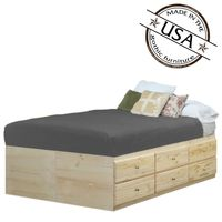 Queen Storage Bed 12 Drawers