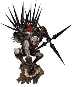Monster Design from Blade & Soul