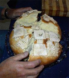 Slavski Kolac (Serbian Slava Bread)