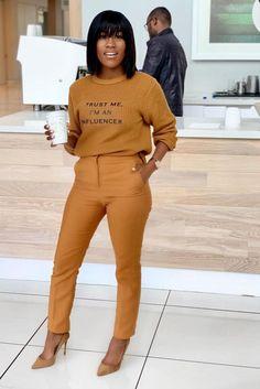 Classy Outfits, Stylish Outfits, Fall Outfits, Fashion Outfits, Fashion Tips, Work Fashion, Fashion Looks, Black Women Fashion, Womens Fashion