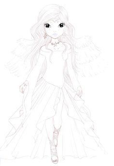 X-Mas-Star :Lineart: by aYa-ichigo on DeviantArt