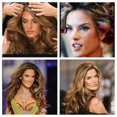 Hair Inspiration: Alessandra Ambrosio