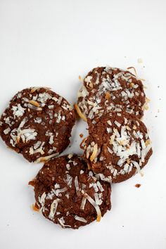 Double Chocolate Coconut Cookies local DC / Shaw cookies