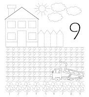 Liuba's Blog: Scrim si coloram Educational Crafts, Math Worksheets, Summer School, Fun Learning, Numbers, Homeschool, Classroom, Stencil, Teaching