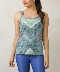 Love this Dragonfly Geo Sublimation Restore Organic Cotton-Blend Tank on #zulily! #zulilyfinds