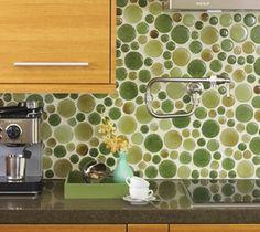 Circular Recycled Glass Tiles