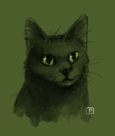 Hollyleaf by Cat-Patrisiya.deviantart.com on @DeviantArt #hollyleaf