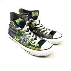 128a36d1987 Converse All-star Hi-Top x Batman DC Comics Shoes