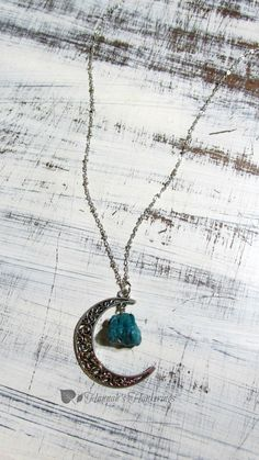 Check out this item in my Etsy shop https://www.etsy.com/listing/234010178/crescent-moon-necklace-eco-friendly-teal