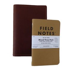 The perfect companion to your Field Notes. This sleek, handmade leather notebook…
