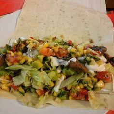 Via: @shastascooking | Lamb gyros Mountain Bread wrap | Healthy Recipe