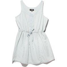778ea597a5 Jack by BB Dakota Plus Malik Chambray Dress (240 PLN) ❤ liked on Polyvore