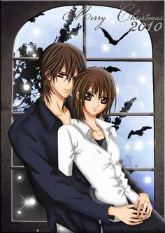 kaname yuki kiss | deviantART: More Like Christmas Kiss - KanameANDYuki by ~SuNsKyle