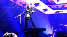 David Garrett mit seiner Band,, 'Purple Rain', Prince