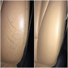 How to repair scuffs and scratches on leather car seats and bolsters.