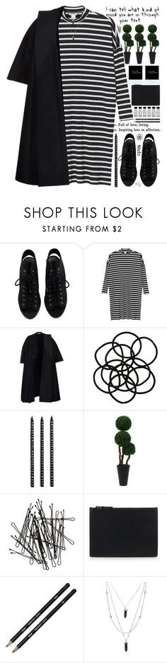 """""""COMMENT SOME OF YOUR FAVE ACCOUNTS """" by alienbabs ❤ liked on Polyvore featuring Monki, CÉLINE, Design Letters, H&M, Helmut Lang, clean, organized and shein"""