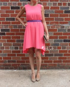 SALE Vanessa - High-Low Dress in Blush Peach Pink, Summer Dress, Cocktail Chiffon Dress, Party Dress, Watermelon Red Dress  Light and airy blush pink dress with accent zipper waist and moderate high-...   https://nemb.ly/p/Vybs__ahVW Happily published via Nembol