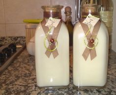 Licor de Chocolate Branco