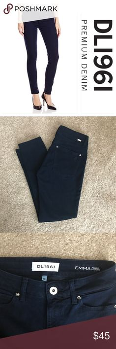 DL1961 Emma Power Legging EUC Emma power legging from DL1961. These are like new! Color is flatiron (very dark blue). 63% tencel, 37% polyester. 24 inch inseam. Offers are welcome! Bundle to save even more! DL1961 Jeans Skinny