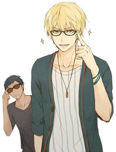 Kise and Aomine <3 LOLZ - Kuroko no Basket
