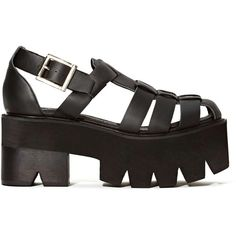 Jeffrey Campbell Argo Platform Sandal ($140) ❤ liked on Polyvore featuring shoes, sandals, zapatos, high heel platform shoes, distressed shoes, high heels footwear, platform shoes and high heel platform sandals