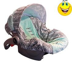 New #infant car #seat cover (carseat not included) Cover your babys carseat with a new fresh cover, easy to remove and washable! Products are made with the highes...