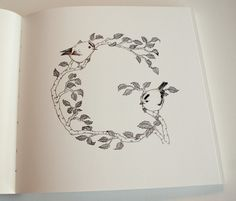 Ugluholt: an alphabet book by Stella Björg, via Behance