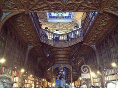 Livraria bookstore In porto, portugal Harry potter themed Architecture  Details  Interior design Books