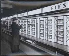 Horn & Hardardt Automat Cafeteria - Would always get my Hot Chocolate there on Parade Days (Thanksgiving & New Years)