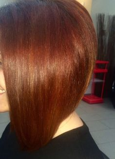 Copper Hair, Bob Cut, Long Hair Styles, Beauty, Beleza, Long Hair Hairdos, Cosmetology, Long Hairstyles, Long Hair Cuts