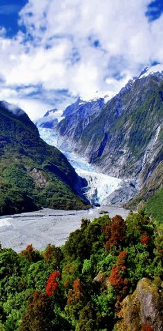 Franz Josef Glacier, South Island , New Zealand