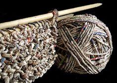 Paper Knitting By Ivano Vitali
