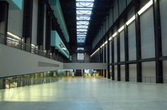 Tate Modern interior. I love that they kept the lobby cavernous, rather than sub-dividing it into smaller galleries.