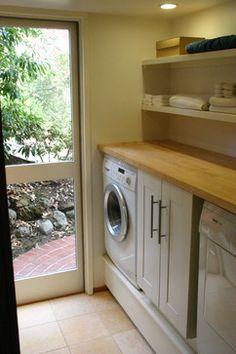 Golden Oaks Remodel - contemporary - laundry room - san francisco - Shannon White Design