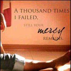 Mercy...