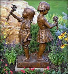 Gary Lee Price (sculptor)-'Flower Girls'-Meyer Gallery