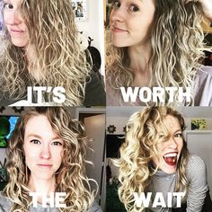 Texture Tales: Kristin on Realizing that Waves are Not Faile.- Texture Tales: Kristin on Realizing that Waves are Not Failed Curls Texture Tales: Kristin on Realizing that Waves are Not Failed Curls - Wavy Hair Care, Curly Hair Tips, Hair Dos, Curly Hair Styles, Natural Hair Styles, Natural Wavy Hairstyles, Medium Permed Hairstyles, Thin Wavy Hair, Long Natural Curls
