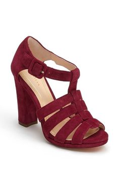 Love this maroon Cole Haan Sandal!