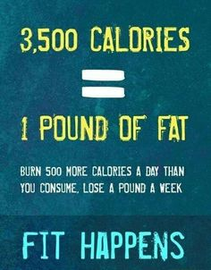 Twitter / WorkoutGrinddd: Calories vs pounds ...