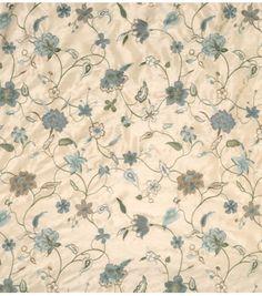 Home Decor Print Fabric-Jaclyn Smith Wexford-Mist