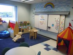 Niles Family Services unveiled its new play therapy room, funded by a $10,000 gift. Therapists will use it to help children heal emotionally and psychologically.