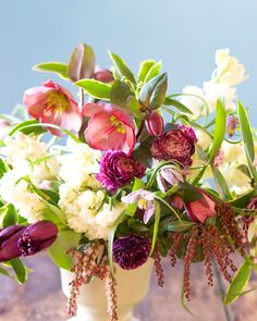 Stunning spring flowers. Flowers by Tulipina: daphne, tulip, fritillaria, hellebore, ranunculus, narcissus, pieris, tuberose