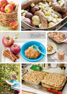 Orchard-Inspired Fun: Family-Friendly Apple Recipes *great list of kid's activities for fall