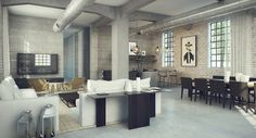 Industrial home design