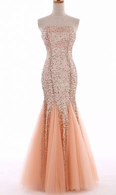 Sparkly Long Mermaid Prom Dresses Sexy Sweetheart Sequin Formal Prom Evening Party Dresses for Graduation