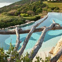 Beach Hotel Hotel U Capu Biancu - Bonifacio, Corsica, France | Wonderful views of the Mediterranean Sea and the very best french cuisine.