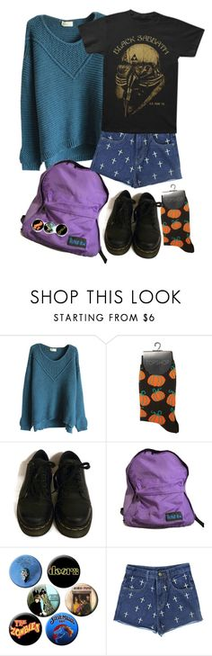 """Untitled #485"" by snakepit ❤ liked on Polyvore featuring Retrò and Dr. Martens"
