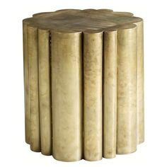 "Somerset Bay Chelsea Stool Side Table- $1,194- 20""Dx20""H"
